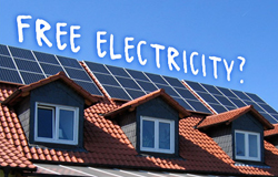 Free Solar Electricity